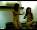 Horny vietnam girl dancing