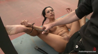 Tied And Fucked In Public Place