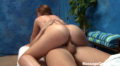 Redhead Massage Teen Sliding On My Dick