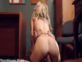Horny Sarah Fucked In Office